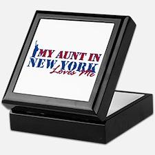 My Aunt in NY Keepsake Box