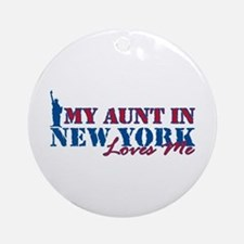 My Aunt in NY Ornament (Round)