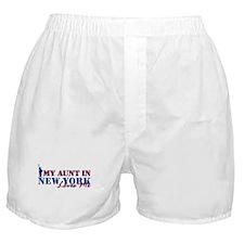 My Aunt in NY Boxer Shorts