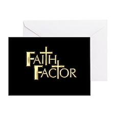 Faith Factor Greeting Card