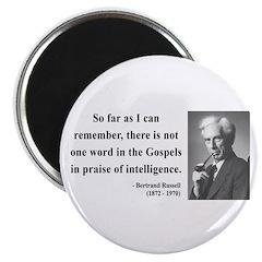 Bertrand Russell 8 Magnet