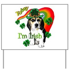 St. Pattys Beagle Yard Sign