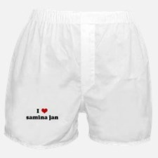 I Love samina jan Boxer Shorts