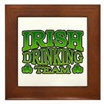 Irish Drinking Team Framed Tile