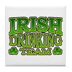 Irish Drinking Team Tile Coaster