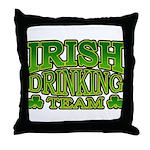 Irish Drinking Team Throw Pillow