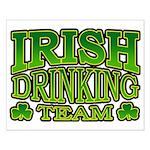 Irish Drinking Team Small Poster