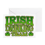 Irish Drinking Team Greeting Cards (Pk of 10)