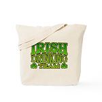 Irish Drinking Team Tote Bag