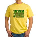 Irish Drinking Team Yellow T-Shirt