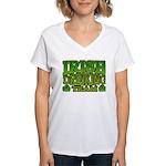 Irish Drinking Team Women's V-Neck T-Shirt