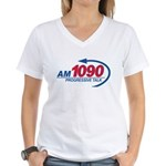 AM1090 Women's V-Neck T-Shirt
