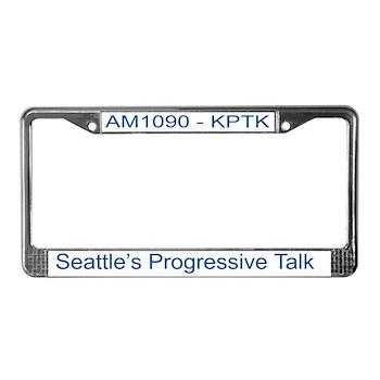 AM1090 License Plate Frame