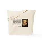 Thomas Jefferson 5 Tote Bag