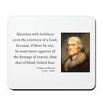 Thomas Jefferson 5 Mousepad