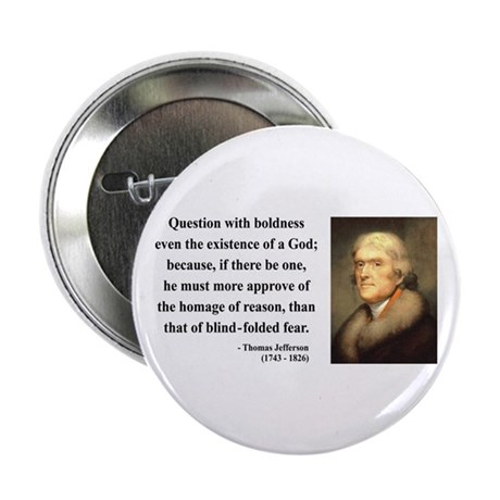 "Thomas Jefferson 5 2.25"" Button (10 pack)"