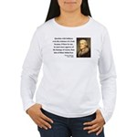 Thomas Jefferson 5 Women's Long Sleeve T-Shirt