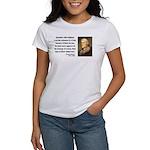 Thomas Jefferson 5 Women's T-Shirt