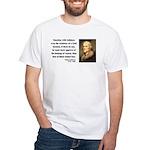 Thomas Jefferson 5 White T-Shirt
