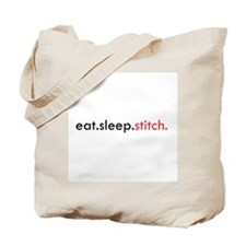 Eat Sleep Stitch Tote Bag