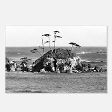 Woody Island With Trees Postcards (Package of 8)