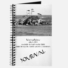 Woody Island With Trees Journal