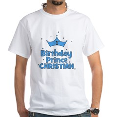 Christian 1st Birthday Prince Shirt