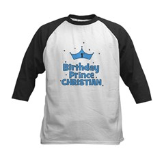 Christian 1st Birthday Prince Tee