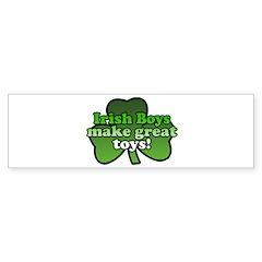 Irish Boys Make Great Toys Bumper Bumper Sticker
