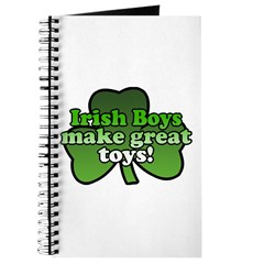 Irish Boys Make Great Toys Journal