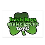 Irish Boys Make Great Toys Postcards (Package of 8