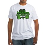 Irish Boys Make Great Toys Fitted T-Shirt