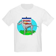 Blue Dane Pi$$ on Obama T-Shirt