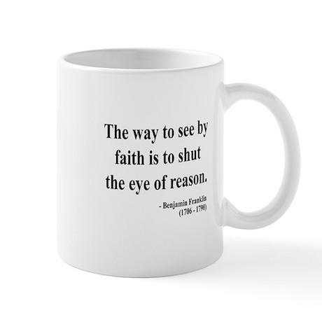 Benjamin Franklin 15 Mug