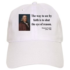 Benjamin Franklin 15 Baseball Cap