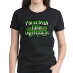 I'm So Irish I Shit Leprechauns Women's Dark T-Shi