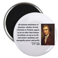 Thomas Paine 22 Magnet