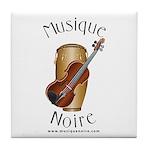 Musique Noire Tile Coaster