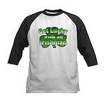 Get Lucky with an Irishman Kids Baseball Jersey