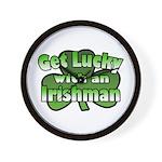 Get Lucky with an Irishman Wall Clock