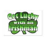 Get Lucky with an Irishman Mini Poster Print