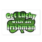 Get Lucky with an Irishman Postcards (Package of 8