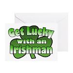 Get Lucky with an Irishman Greeting Card