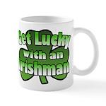 Get Lucky with an Irishman Mug