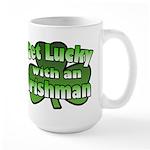 Get Lucky with an Irishman Large Mug