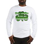 Get Lucky with an Irishman Long Sleeve T-Shirt