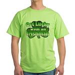 Get Lucky with an Irishman Green T-Shirt