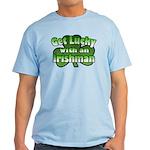 Get Lucky with an Irishman Light T-Shirt