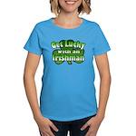 Get Lucky with an Irishman Women's Dark T-Shirt