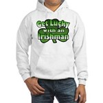 Get Lucky with an Irishman Hooded Sweatshirt